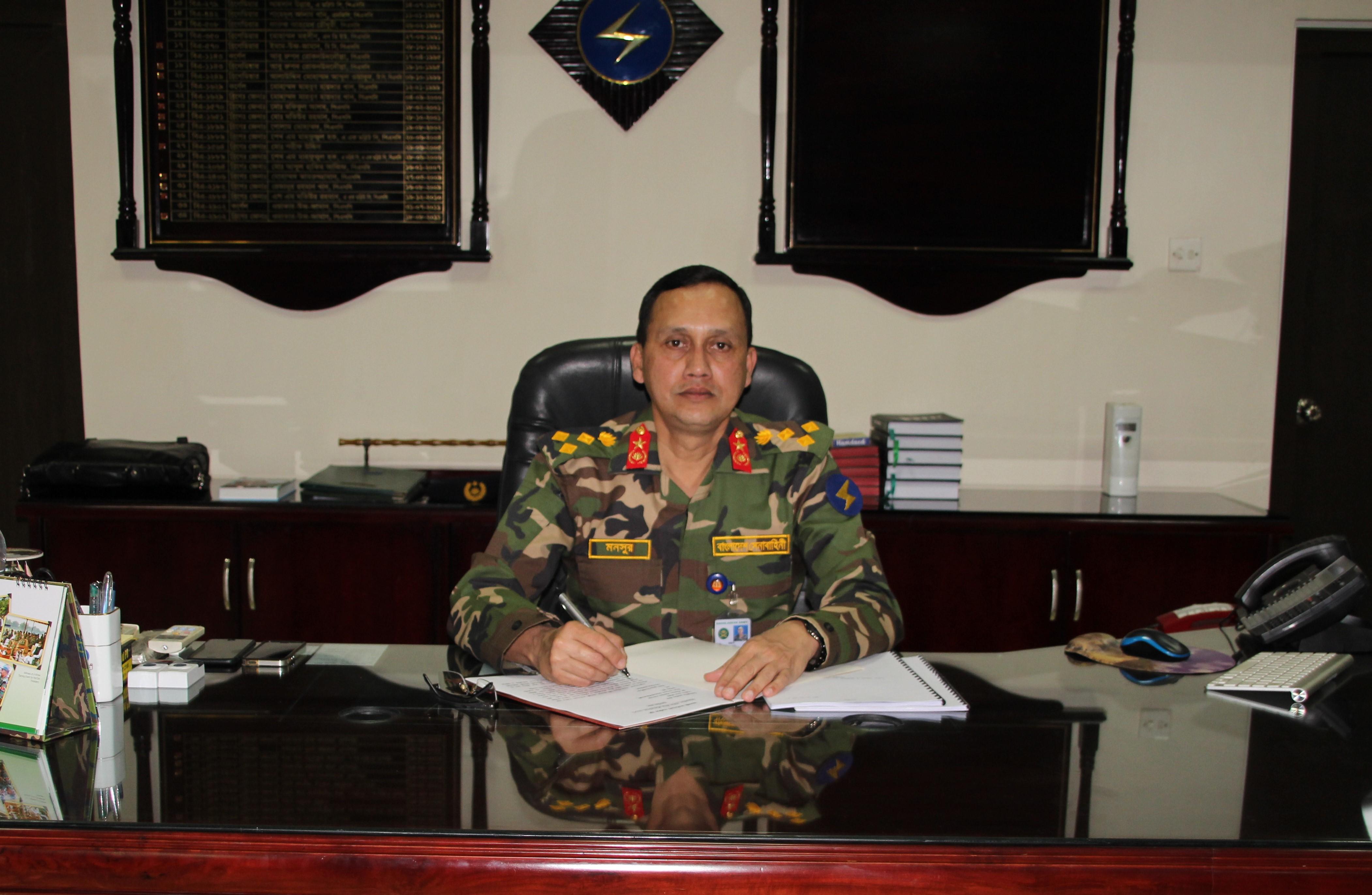 Brigadier General Abul Mansur Md. Ashraf Khan, ndc, psc