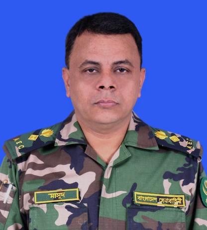 Lt  Col Md Masud Rana, psc