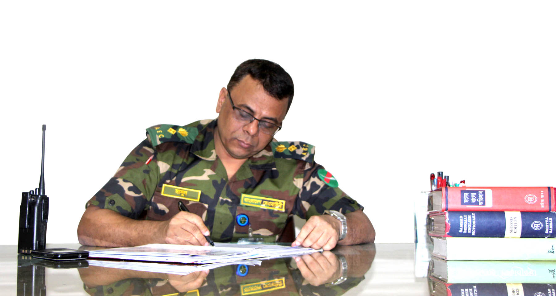 Lt  Col Md Masud Rana, psc, PhD